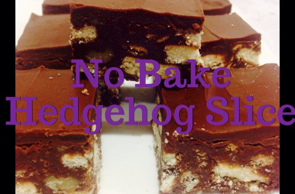 No Bake Hedgehog Slice (Thermomix Method Included)